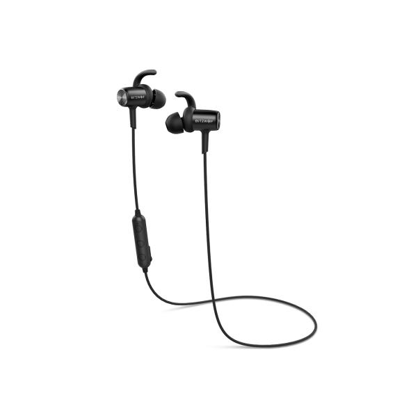 vízálló Bluetooth sport headset mikrofonnal alu házban
