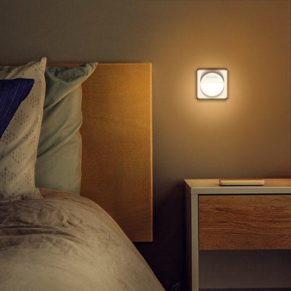 BlitzWolf® BW-LT10 Senzor de lumină inteligent Lumină de noapte 3000 K Temperatură de culoare 20 Lumeni 120 ° Lumină de noapte unghi de lampă