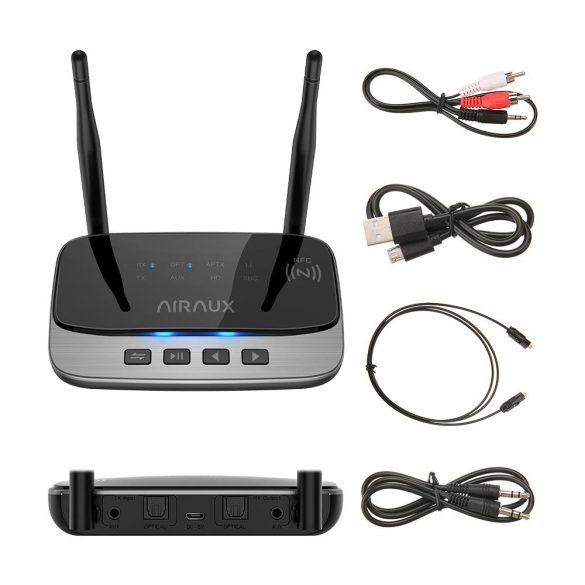 BlitzWolf® AIRAUX AA-BT3 bluetooth V5.0 Transmițător apt HD pentru receptoare de muzică Adaptor audio 2 în 1