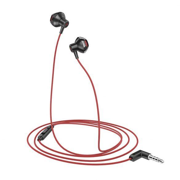 BlitzWolf® AIRAUX AA-HE1 Control cu fir Căști cu cască în cască cu microfon - Roșu