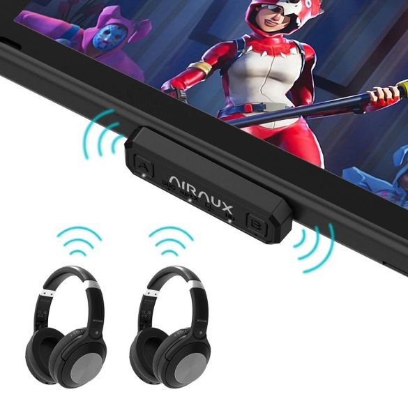 BlitzWolf® AirAux AA-BT2 - USB tip C - Transmițător de muzică Bluetooth 5.0 pentru PC și Sony PS