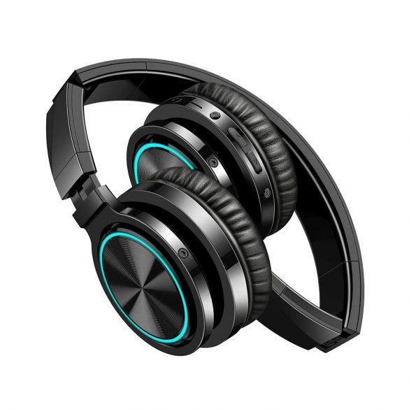 Căști Blitzwolf® AirAux AA-ER1 Căști bluetooth fără fir Portabil cu cască stereo cu muzică stereo pliabilă cu microfon