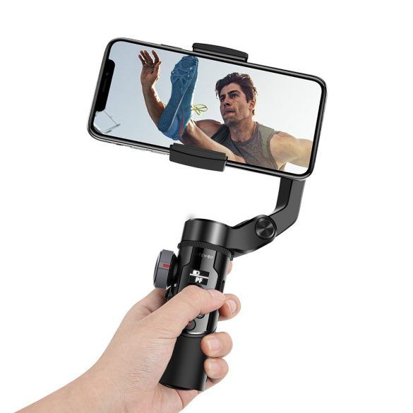 BlitzWolf® BW-BS14 bluetooth selfie stick cu stabilizator Gimbal cu 3 axe