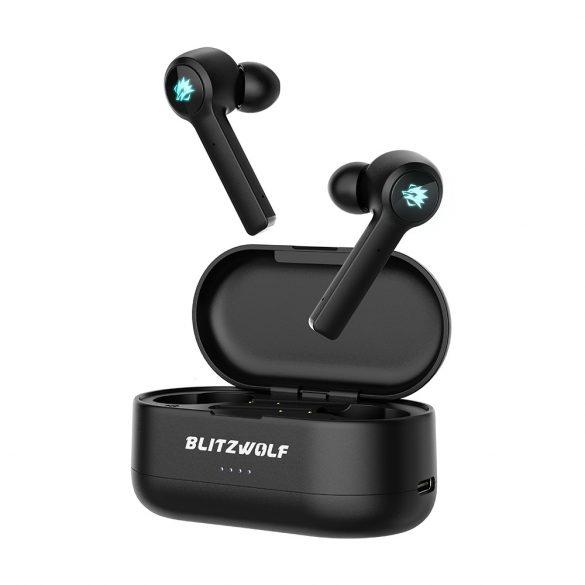 Căști pentru jucători BlitzWolf® BW-FLB2 TWS - Virtual 7.1 Surround, Bluetooth 5.0, IPX4