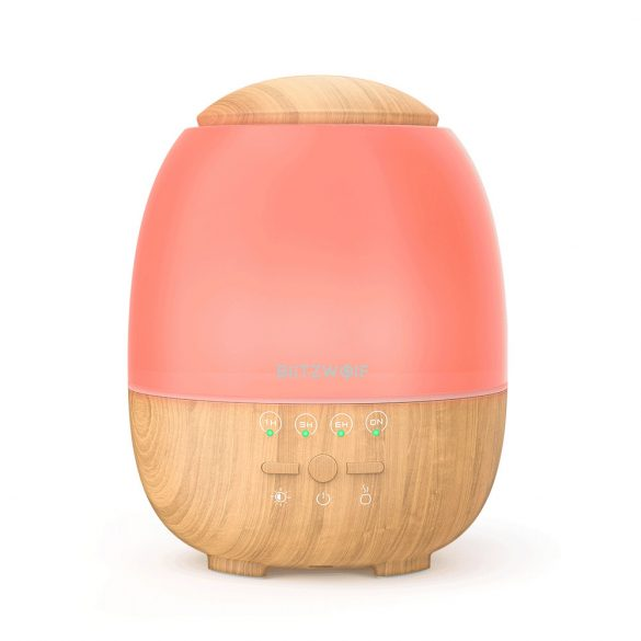 BlitzWolf®BW-FUN3 - Difuzor Aroma - Smart Control APP, lumină colorată, control vocal