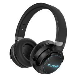 Căști BlitzWolf® BW-HP0 Pro - 42 de ore de redare, sistem de sunet HiFi, iluminare RGB