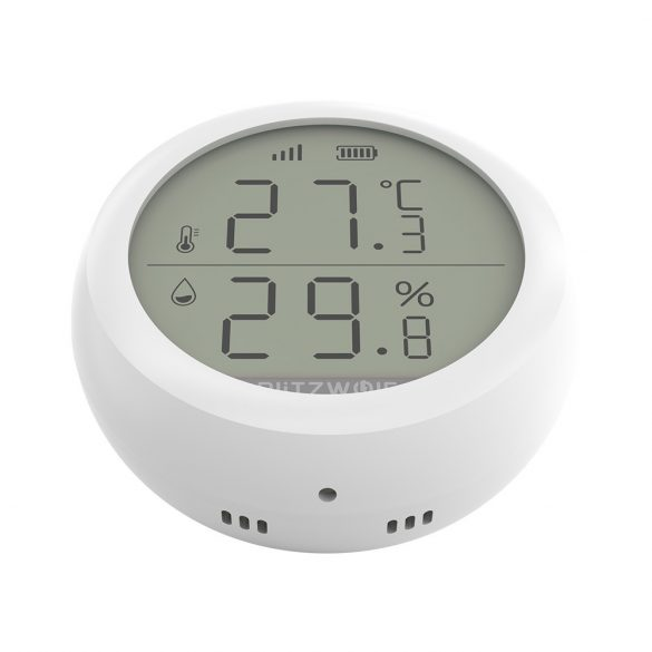 BlitzWolf® BW-IS4 ZigBee senzor de temperatură și umiditate