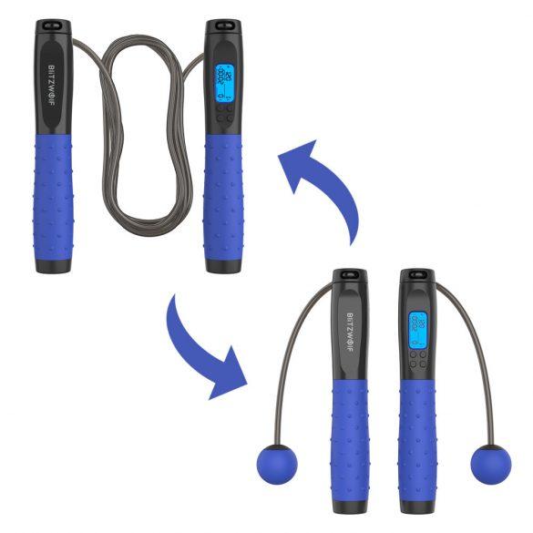 BlitzWolf®BW-JR1 - Cablu de salt digital cu contor