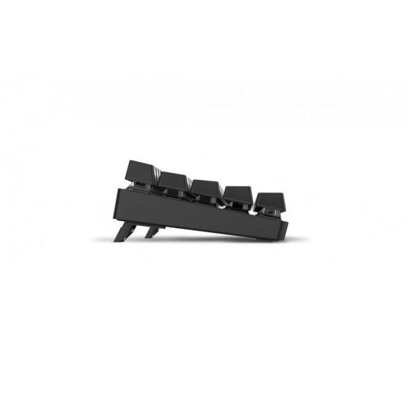 Tastatura gaming mecanica BlitzWolf BW-KB1 - Chei mecanice, iluminare cu LED-uri RGB, cablu și wireless, IPX4 - negru