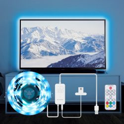 BlitzWolf® BW-LT32 2M USB RGB TV Strip Light Kit