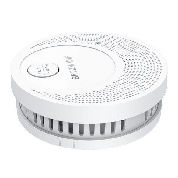 Detector de fum Blitzwolf® BW-OS1: 3 ani de viață a bateriei, ≥85dB