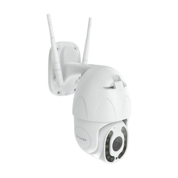 Blitzwolf® BW-SHC3 Cameră de securitate WiFi inteligentă în aer liber WiFi: 1080P, vedere nocturnă, detecție mișcare, IP64