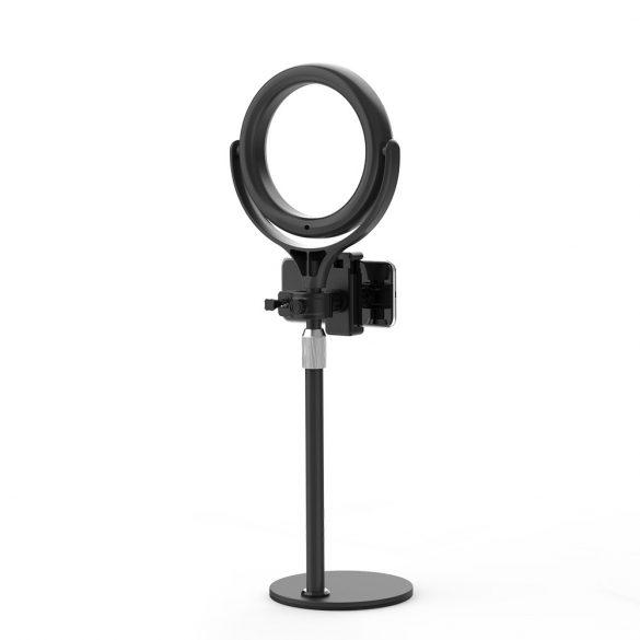 Blitzwolf BW-SL4 - Lampa circulara Ring Light, 2800 Lumen, 10 temperatura culorii, telecomanda, trepied inclus.