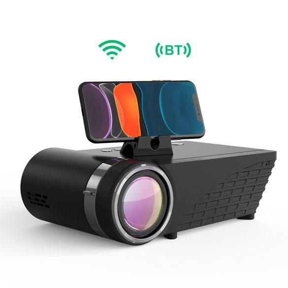BlitzWolf® BW-VP8 WIFI Videoproiector, 720P, 5500 lumeni - negru