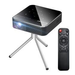 Mini proiector BlitzWolf® BW-VT1 Home Cinema - sistem de operare Android, 854x480P, tehnologie DLP, culoare vie