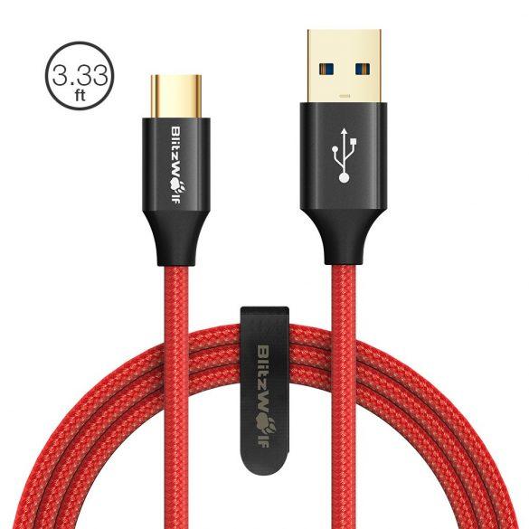 1.8 meter, USB-C, USB 3.0 BlitzWolf® AmpCore Turbo BW-TC10 3A Împletit Durabil