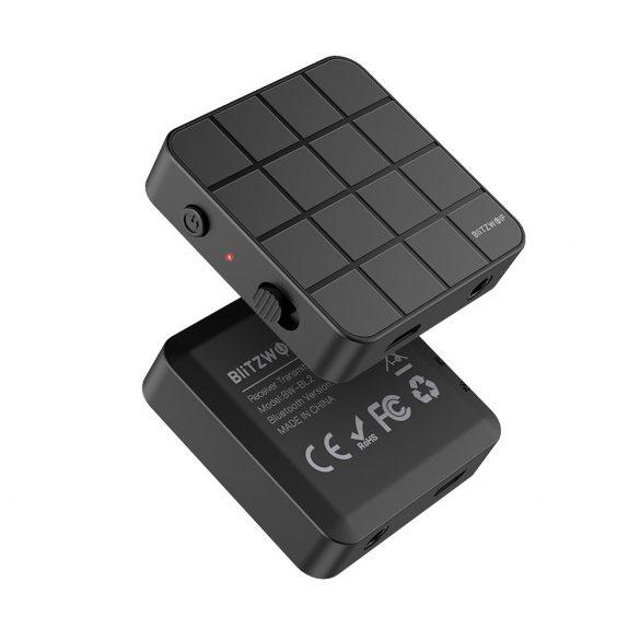 BlitzWolf® BW-BL2 bluetooth V5.0 Transmițător HD pentru receptoare de muzică Adaptor audio 2 în 1