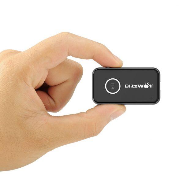 BlitzWolf® BW-BR1 bluetooth V4.1 Adaptor audio AUX cu mâini gratuite pentru mâini de mașină de 3,5 mm