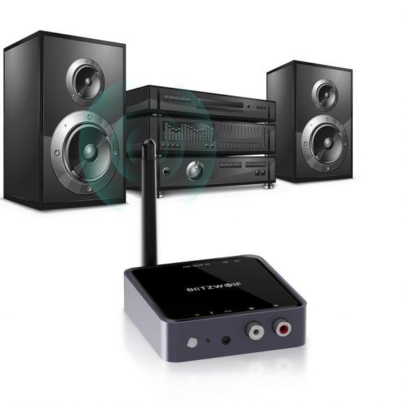 BlitzWolf® BW-BR4 bluetooth V5.0 Transmițător HD pentru receptoare de muzică Adaptor audio 2 în 1