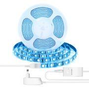 BlitzWolf® BW-LT11 2M / 5M Smart Control Control RGBW LED Light Strip Kit lucrează cu Amazon Alexa Google Assistant