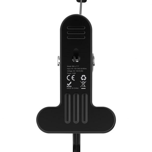 BlitzWolf® BW-LT17 2.8W Clip-on Lampă de masă flexibilă Senzor tactil Senzor tactil lumină de citire AC100-240V