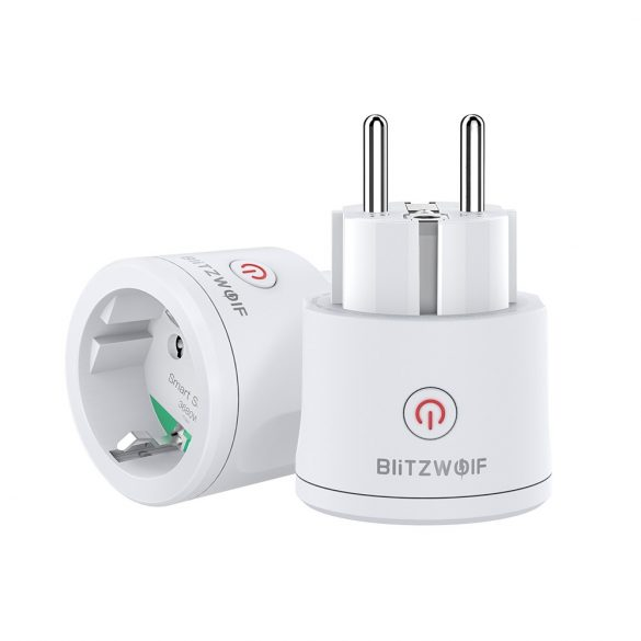 Blitzwolf® BW-SHP13 ZigBee 3.0 Smart Socket - 220V; 16; can integrate with Amazon Echo, Google Home and IFTTT.0 3680W 16A Priza inteligenta programabila WiFi, Smart Socket J2, Compatibil Android/IOS