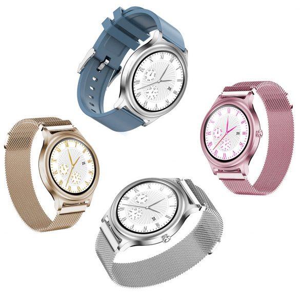 BlitzWolf BW-AH1 gold - ceas inteligent pentru femei cu ecran tactil - aur