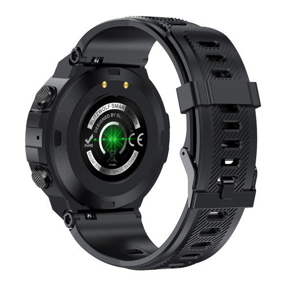 """Blitzwolf® BW-AT2 (gri)inteligent sport (verde) - baterie de 10-15 zile, afișaj IPS de 1,3 """", nenumărate funcții încorporate"""