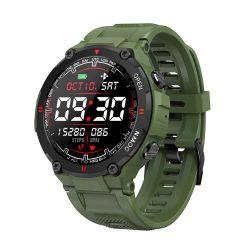 Blitzwolf® BW-AT2C (Verde) Ceas inteligent cu microfon încorporat și difuzor cu nenumărate funcții ale modului de activitate