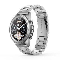 Blitzwolf® BW-HL4 (negru) ceas inteligent bluetooth - curea metalică, IP67, memento apel și mesaj, redare muzică, mod Muti-sport, date de sănătate