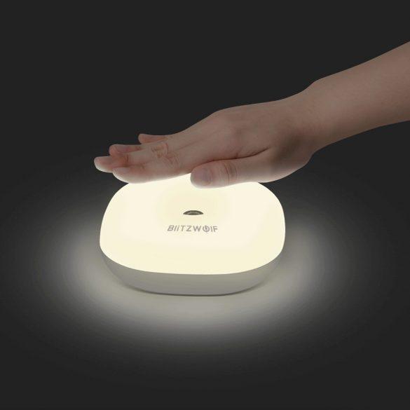 BlitzWolf BW-LT18 Senzor inteligent de control al gesturilor LED lumină de noapte RGB reglabilă lampă de noptieră