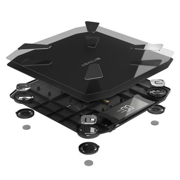 BlitzWolf® BW-SC3 Smart Scale WIFI cu 13 valori corporale, precizie ridicată, control APP, stil modern și încărcare USB