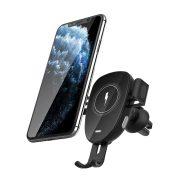 BlitzWolf® BW-CW2 - încărcător rapid wireless 15W + suport telefon auto - pentru toate telefoanele care acceptă încărcarea fără fir (standard QI)
