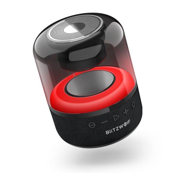 Difuzor retroiluminat Bluetooth RGB BlitzWolf® BW-AS4, 20W, timp de redare de 5 ore, bas puternic