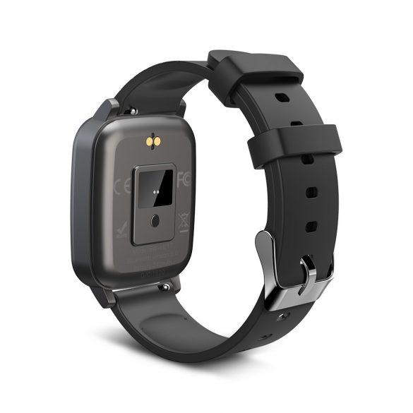 Blitzwolf® BW-HL1T IP68 Monitor de activitate pentru Smartwatch: Monitor de temperatură, tensiune arterială și ritm cardiac - negru