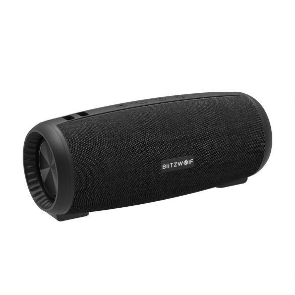 BlitzWolf® BW-WA1 12W Bluetooth bluetooth 5.0 Difuzor cu diafragmă pasivă dublă TWS Stereo TF Card U Difuzor cu disc cu mic