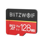 Card de memorie cu adaptor   Card de memorie cu adaptor BlitzWolf®BW-TF1 128 GB Card de memorie cu adaptor, până la 80MB / s viteze de citire + 20 MB / s