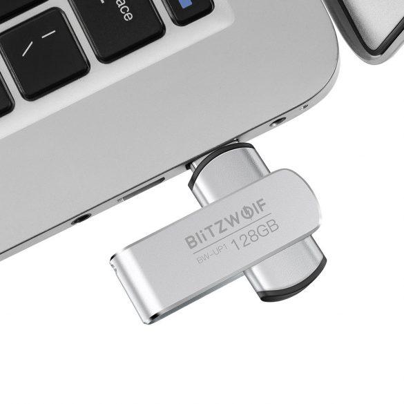 BlitzWolf® BW-UP1 Aliaj de aluminiu 360 ° Capac rotativ USB 3.0 Drive Flash 128GB