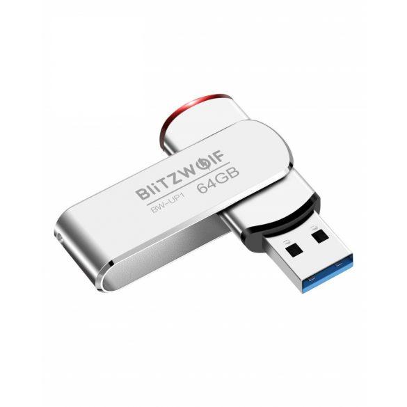 BlitzWolf® BW-UP1 Aliaj de aluminiu 360 ° Capac rotativ USB 3.0 Drive Flash 64GB