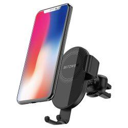 BlitzWolf® BW-CW1 Încărcător wireless Suport pentru telefon auto