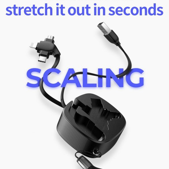 JOYROOM S-M366 3in1: Type C, Apple Lightning, Micro USB Cablu