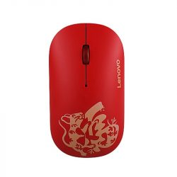 Mouse wireless Lenovo Air Handle - Conexiune wireless 2,4 GHz, autonomie de 10 metri - argintiu