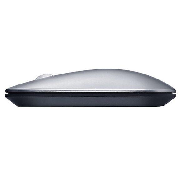 Mouse wireless Lenovo Air2 - Bluetooth + Conexiune wireless 2,4 GHz, autonomie de 10 metri - argintiu