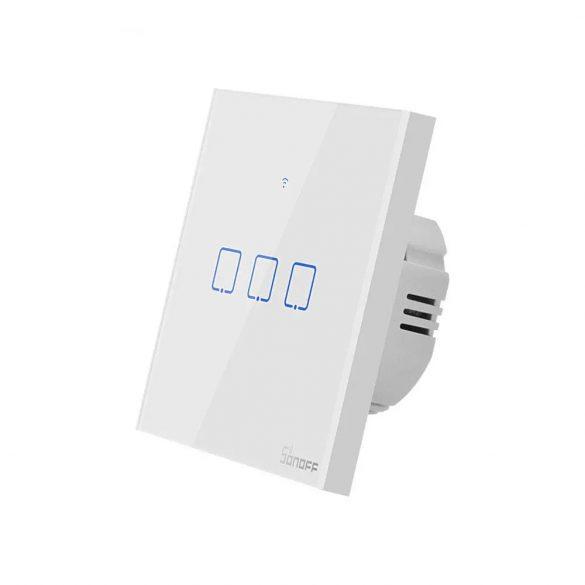 Sonoff® T0 Intrerupator smart - se poate integra cu Google Home, Amazon Echo și IFTTT