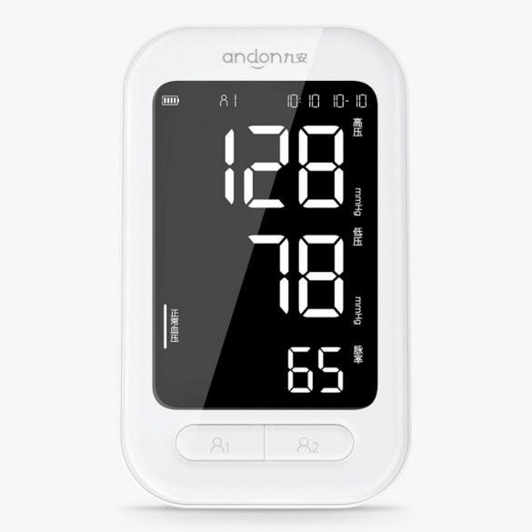 Xiaomi Youpin Andon 5907 - sfigmomanometru digital automat, puls oximetru pentru monitorizarea ritmului cardiac, tonometrie, sfigmomanometru