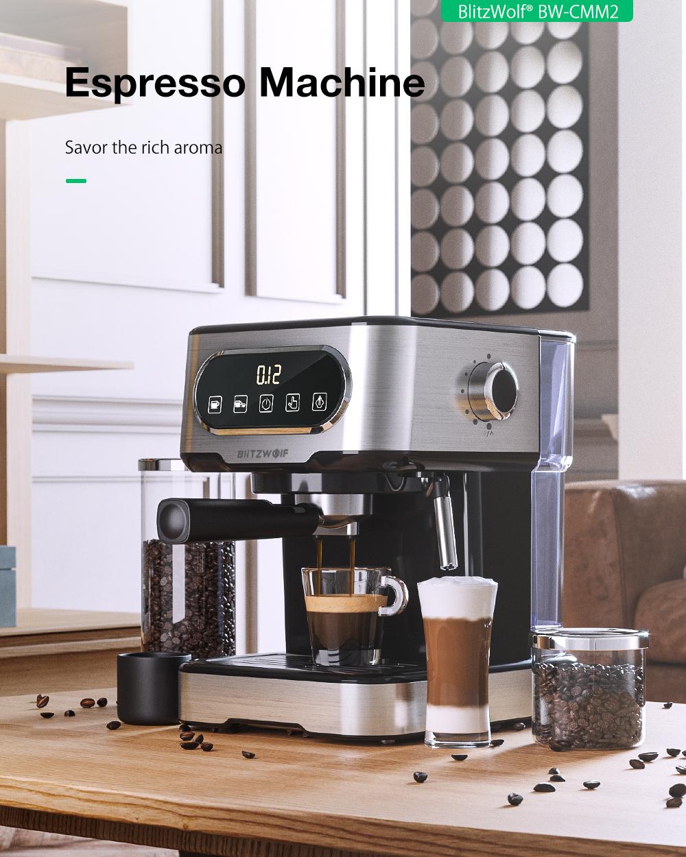 Blitzwolf BW-CMM2 kávéfőző