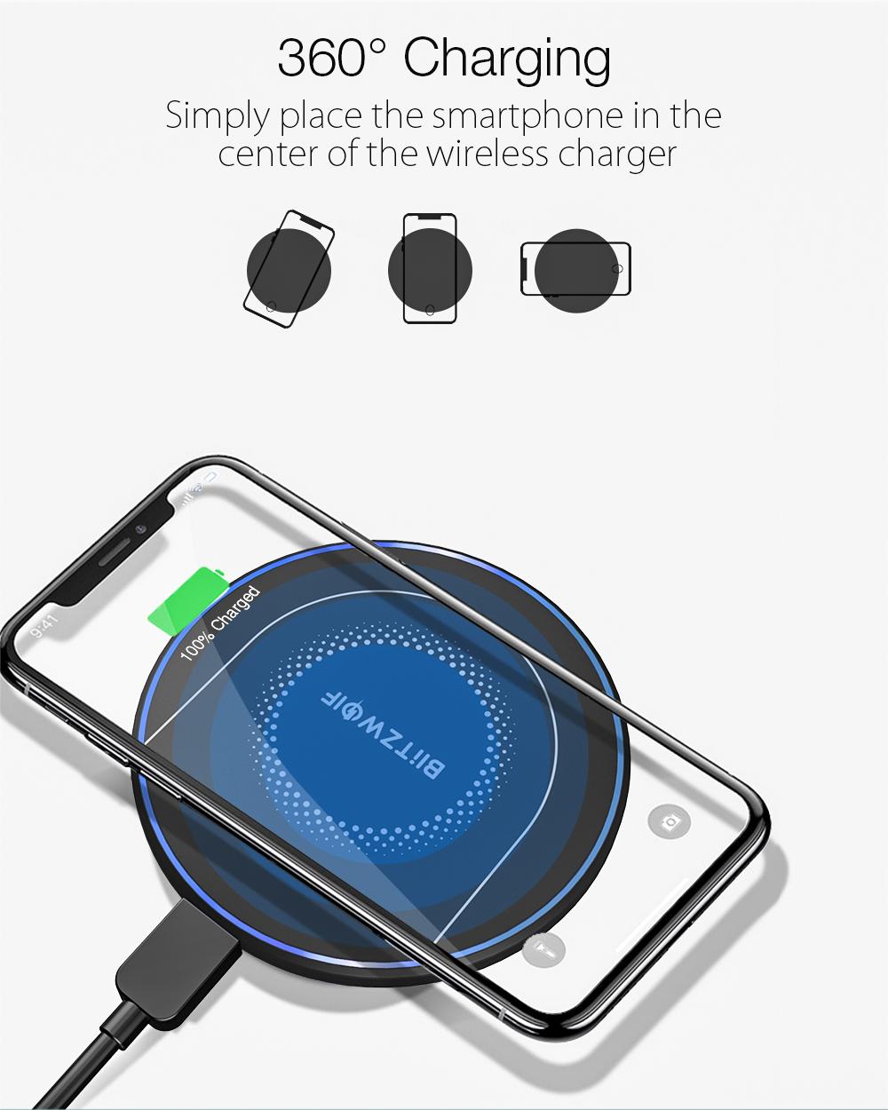 BlitzWolf BW-FWC7 QI wireless charger