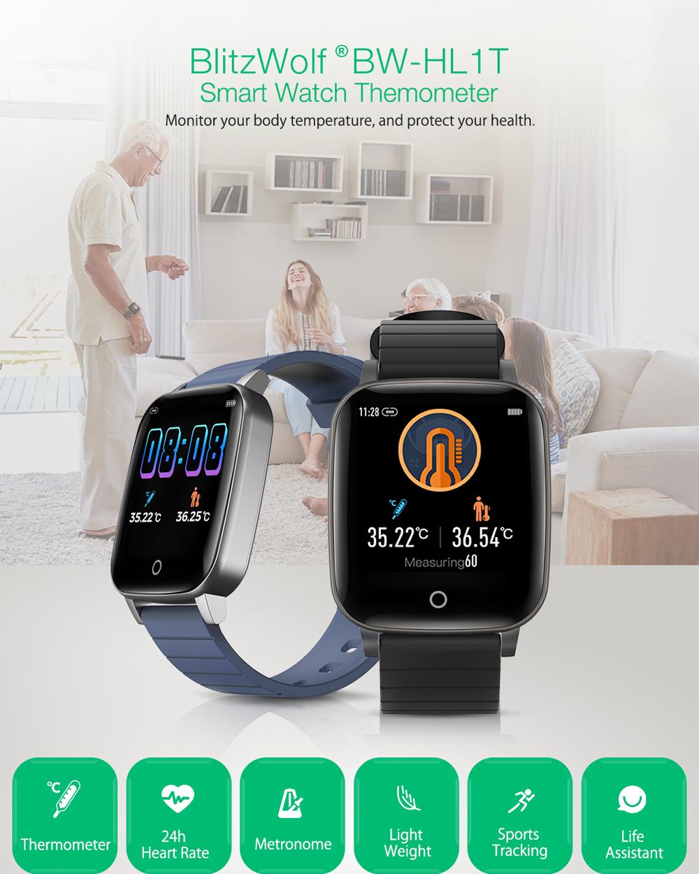 Blitzwolf BW-HL1T smart watch