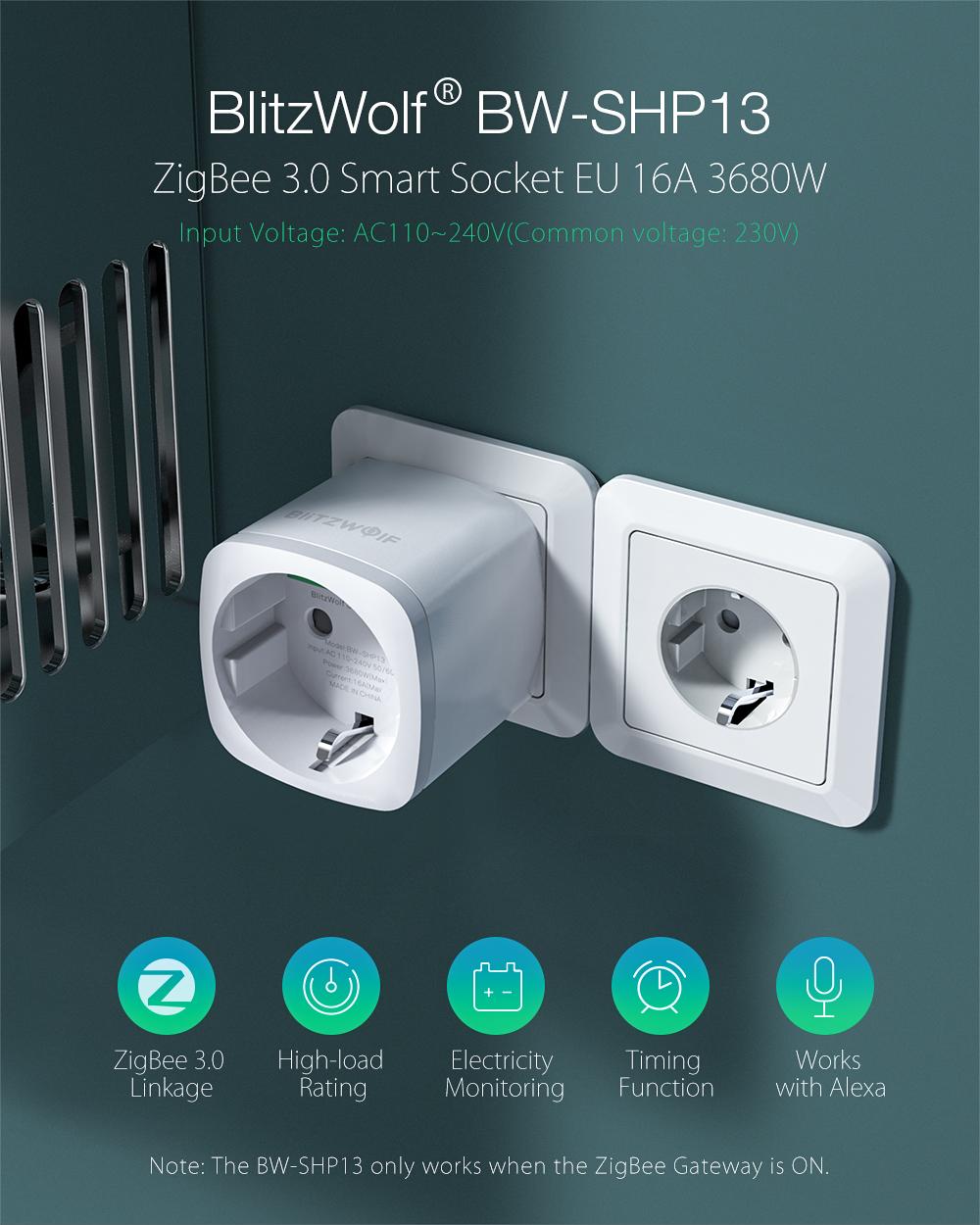 Blitzwolf BW-SHP13 smart socket